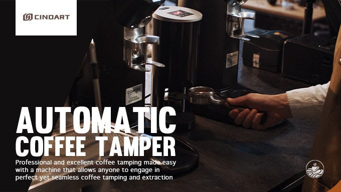 automatic coffee tamper