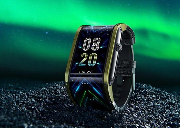 flexible display smartwatch