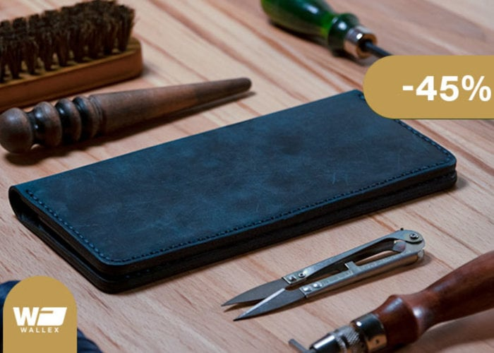 Wallex handcrafted wallets that improve with time - Geeky Gadgets