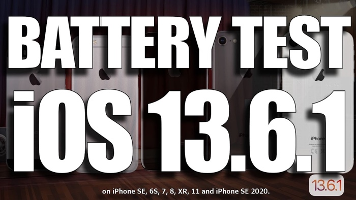 Battery life tests: iOS 13.6.1 (Video) - Geeky Gadgets