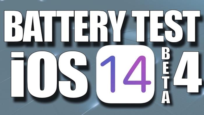 iOS 14 Beta 4 battery life