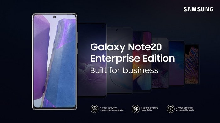 Samsung Galaxy Note 20 Enterprise Edition announced - Geeky Gadgets