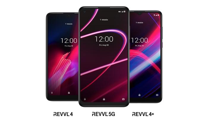 T-Mobile REVVL 4, REVVL 4+ and REVVL 5G