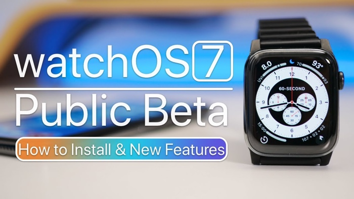 watchOS 7 public beta 1