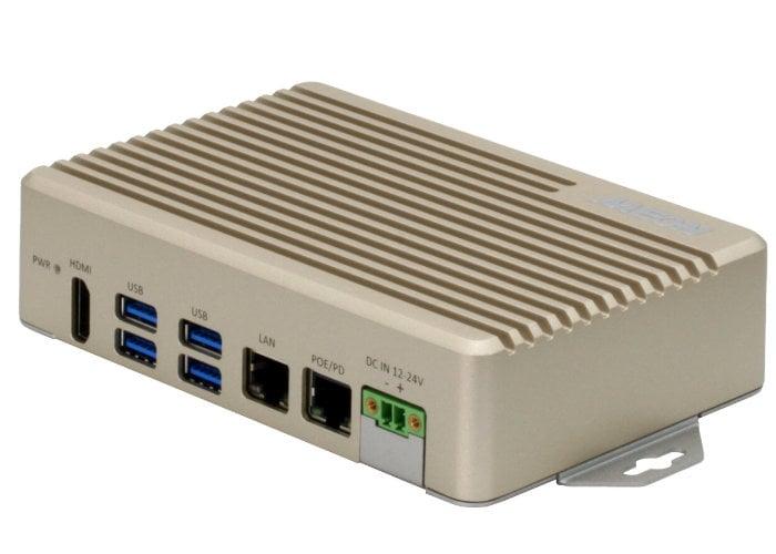 AAEON BOXER 8222AI compact AI edge mini PC