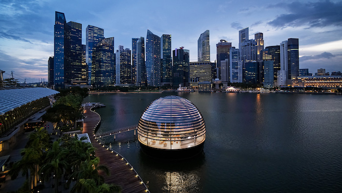 Apple's Marina Bay Sands Store in Singapore Opens Thursday