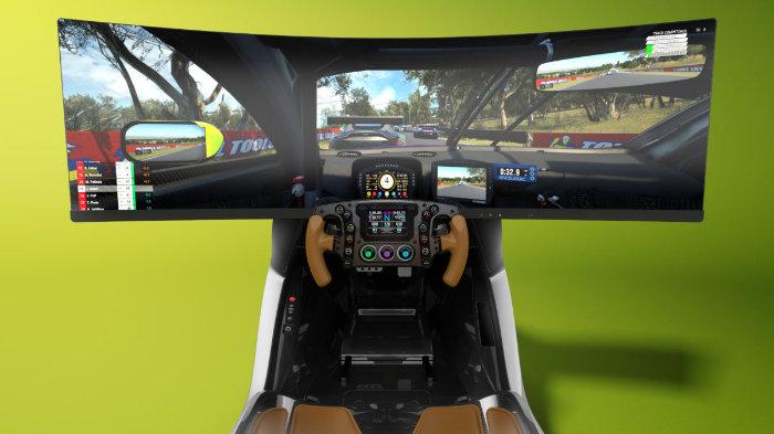 Aston Martin racing simulator