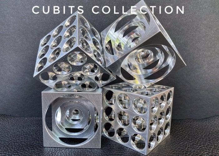 CNC machine cube