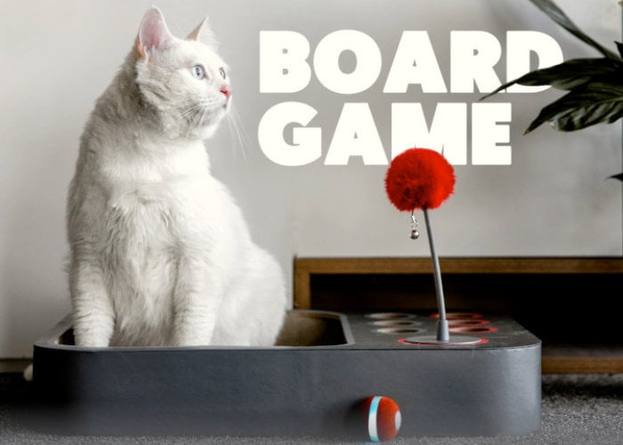 Cheerble interactive smart cat toy - Geeky Gadgets