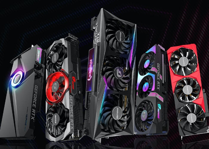 Colorful GeForce RTX 30 Series graphics cards