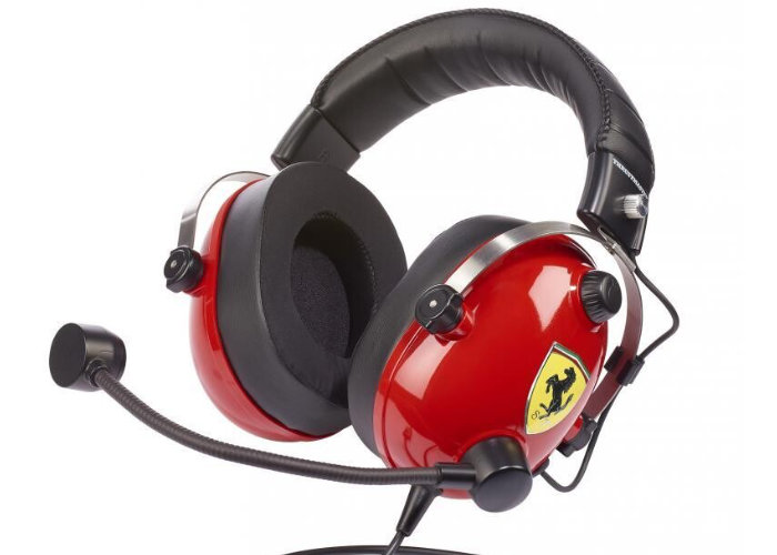 Ferrari gaming headset