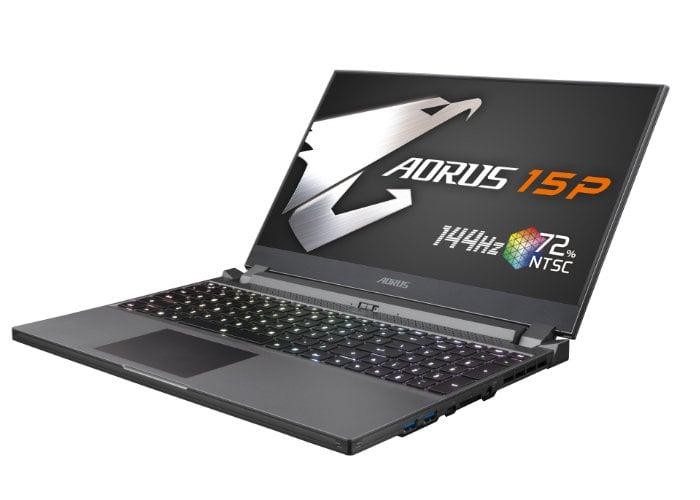 GIGABYTE AORUS 15P gaming laptop