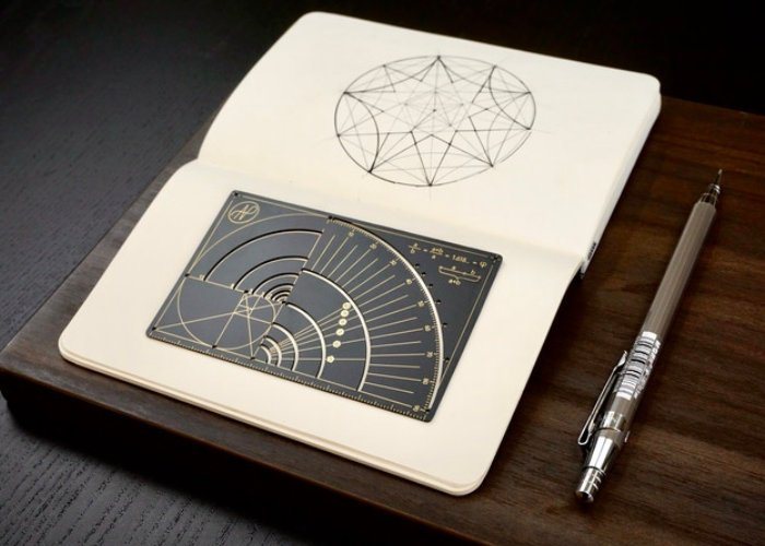 Phi Ruler Golden Ratio ruler for sketching - Geeky Gadgets