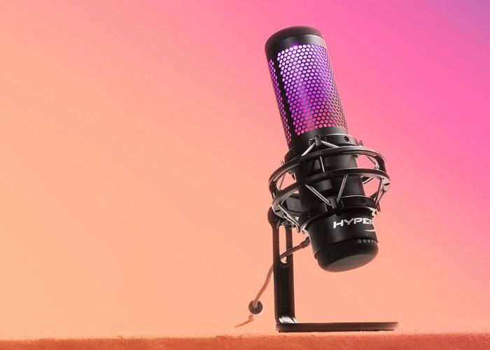 HyperX QuadCast S USB microphone