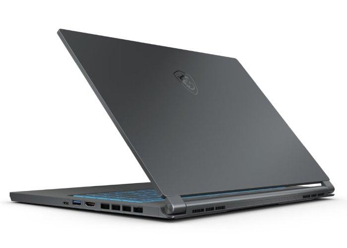MSI Stealth 15M gaming laptop