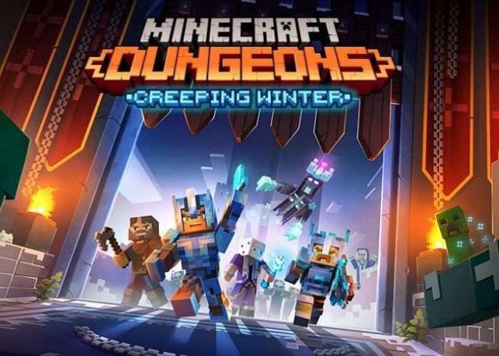 Minecraft Dungeons Creeping Winter DLC