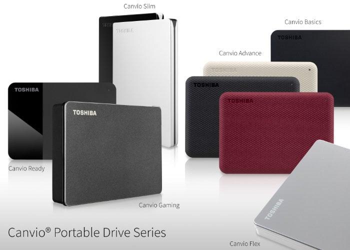 New Toshiba Canvio portable storage