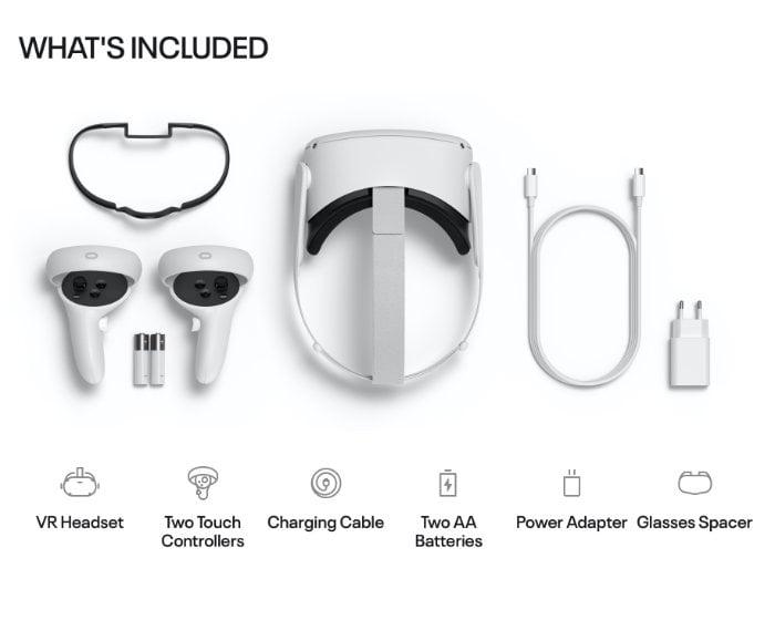 Oculus Quest 2 VR headset unboxing