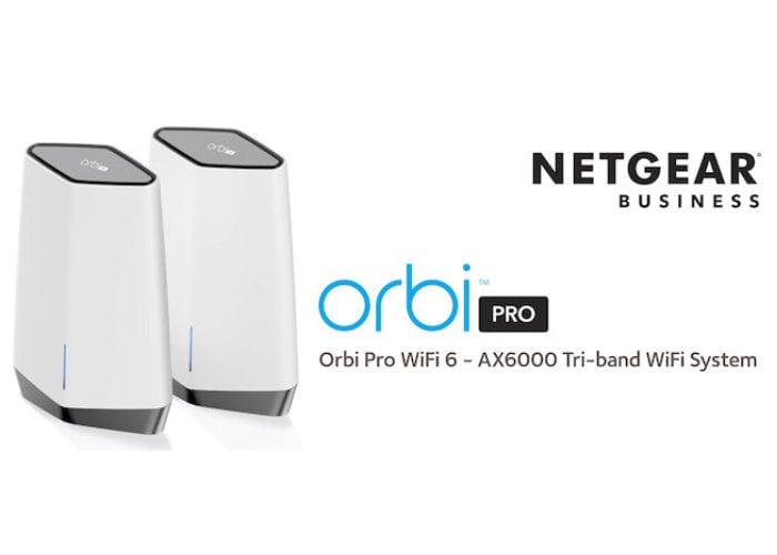 Orbi Pro WiFi 6 Tri-band Mesh System