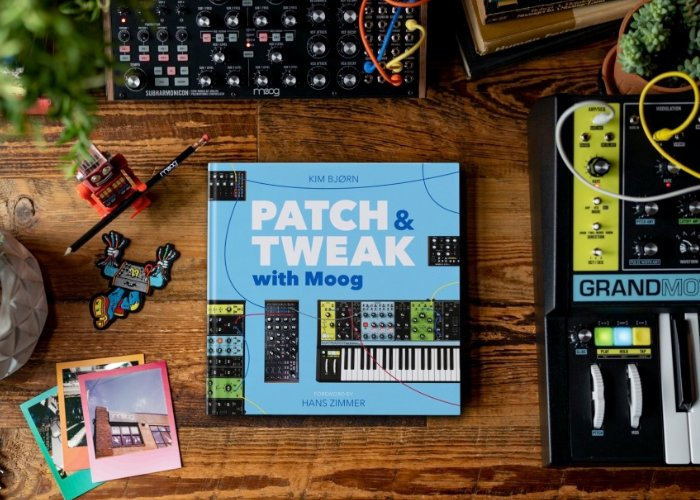Patch and Tweak with Moog book