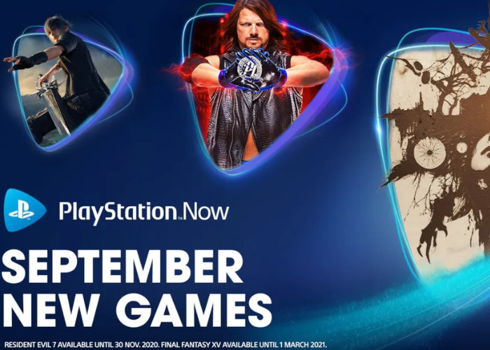 PlayStation Now September games