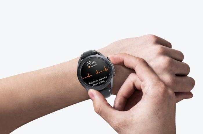 Samsung ECG Monitor app