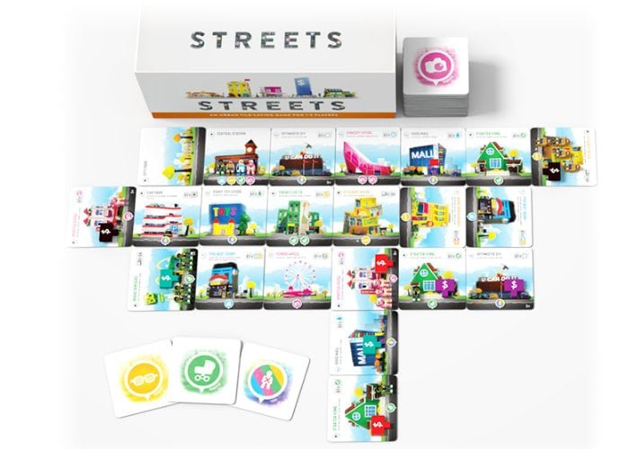 Streets board game