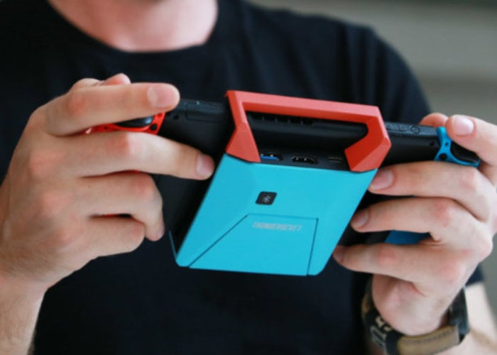 Switchblade Hub for the Nintendo Switch Bluetooth 5, HDMI, game storage and more from $49 - Geeky Gadgets