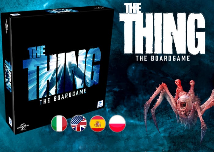 The Thing Board game