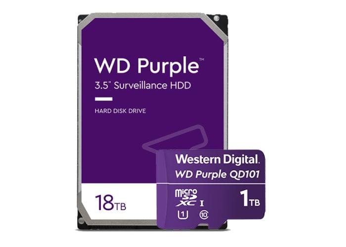 WD Purple 18 TB HDD