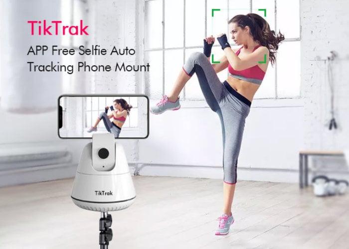 auto tracking smartphone stand