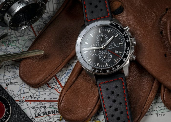 Militex Duxford Sprint British designed chronograph watch from $149 - Geeky Gadgets
