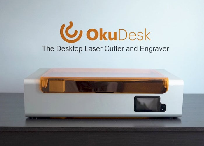 Oku Desk desktop laser cutter and engraver - Geeky Gadgets