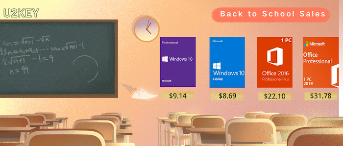 Back to School Sales: Windows 10 Pro with $9.14 and Office 2016 Pro with $22.10 - Geeky Gadgets
