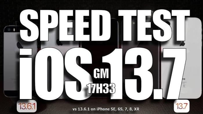 iOS 13.7 vs iOS 13.6.1