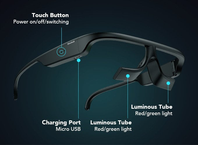 light therapy glasses