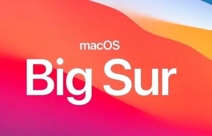 macOS 11 big sur beta 8