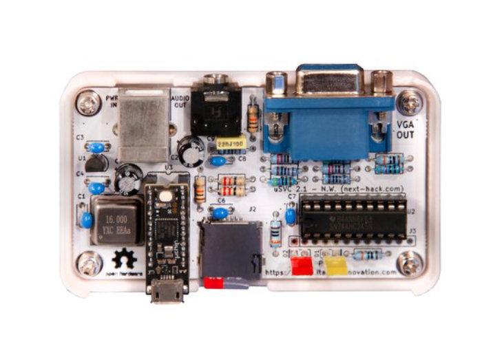 retro-gaming console