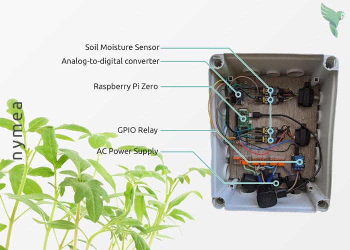 Build an open source smart garden plant watering system without writing any code - Geeky Gadgets