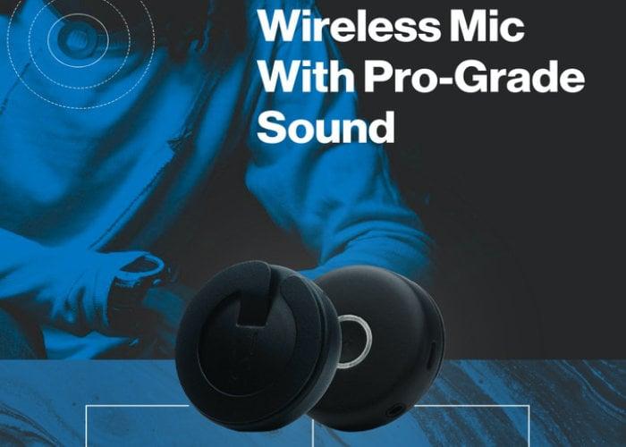 wearable wireless microphone