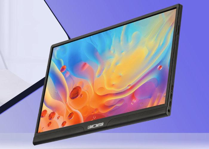 4K Touchscreen Portable Monitor