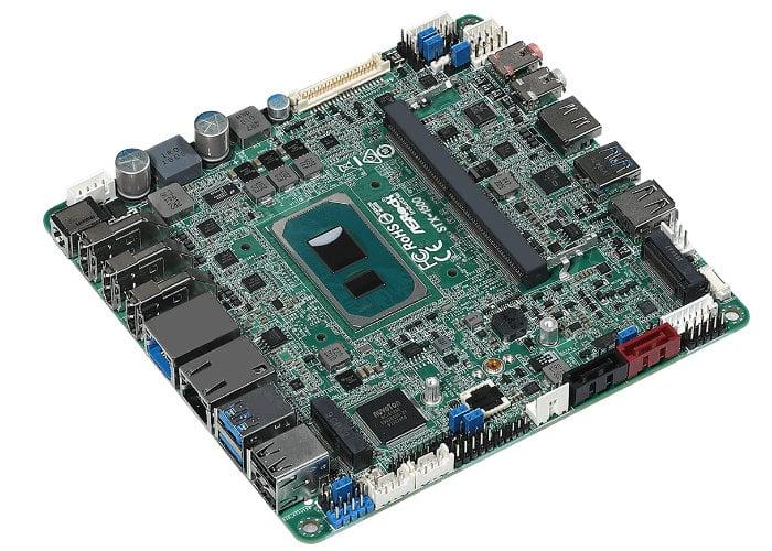 Mini-STX motherboard