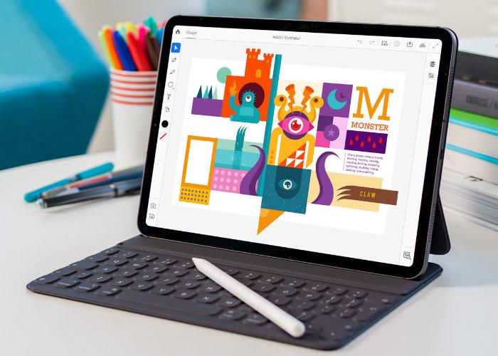 Adobe Illustrator iPad app