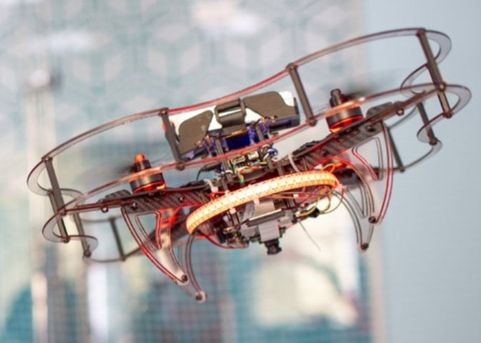 Clover drone open source programmable quadcopter kit - Geeky Gadgets