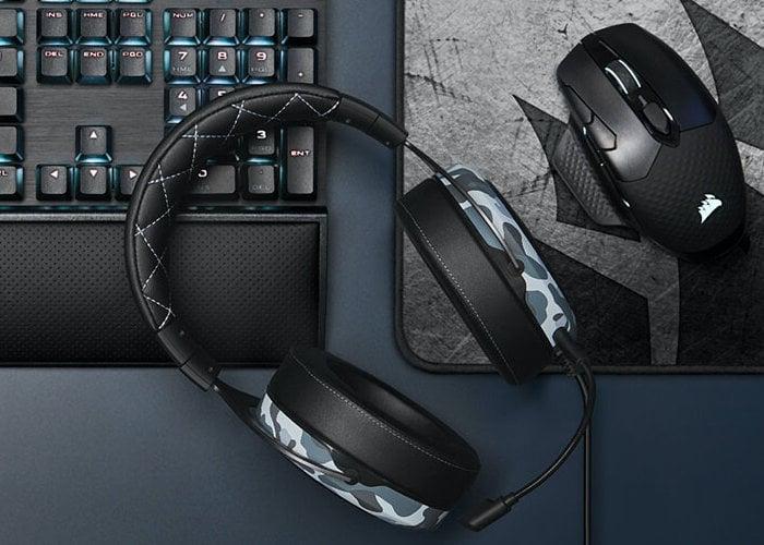 Corsair HS60 Haptic gaming headset