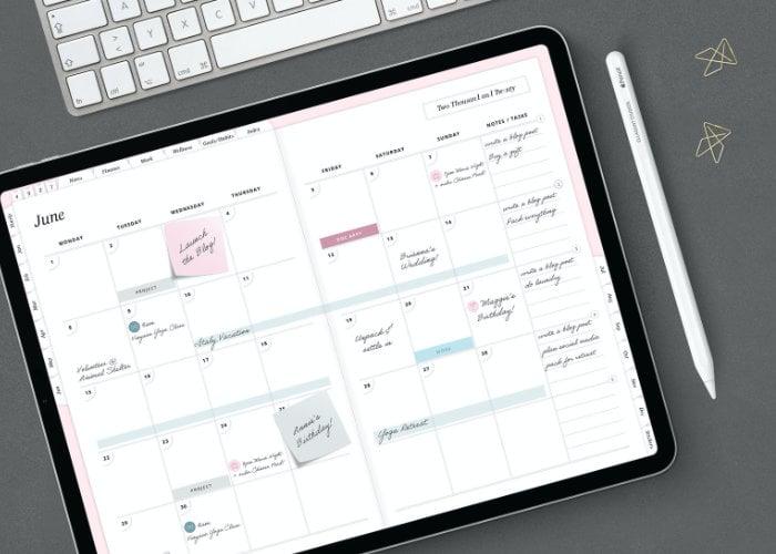 Elegant Studio Digital Life Planner - Geeky Gadgets