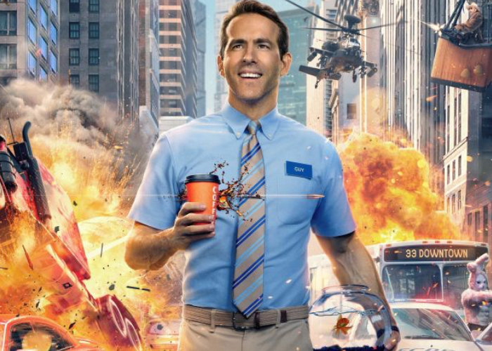 New Free Guy movie trailer starring Ryan Reynolds as an NPC in an open-world video game - Geeky Gadgets