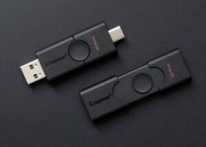 Kingston Dual-Interface DataTraveler Duo USB flash drive