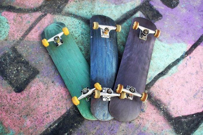 Open source skateboard deck