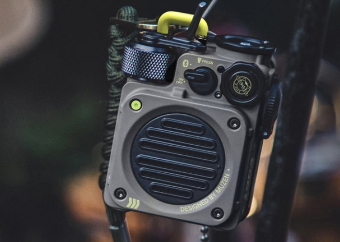 Retro wireless speaker designed for outdoor adventure - Geeky Gadgets